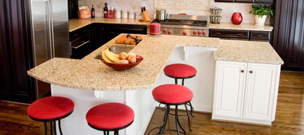 benefits of a two level kitchen island atlanta design
