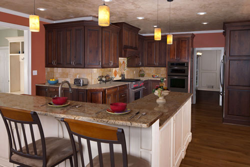 Two Level Kitchen Island