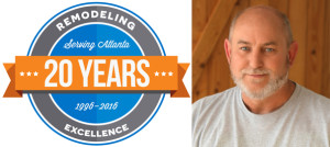 Mike Pike with Atlanta Design & Build 20 Years